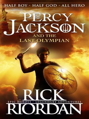 cover image of Percy Jackson and the Last Olympian